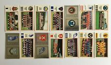 Panini Football 83 Stickers x14 (unstuck with backs/badge) Division 2 (Batch 2)