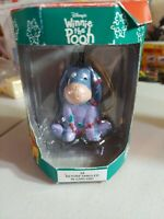 "Disney Winnie the Pooh Ornament Eeyore In Tangled Garland #34 Retired 3"" NEW NIB"