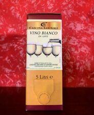 "BAG IN BOX Cortese 5lt  ""vino bianco la corte""- Cascina San Siro"