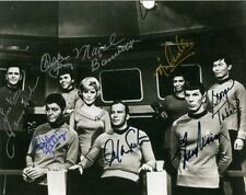 STAR TREK Cast Signed Photograph - TV Actors & Actresses - Preprint