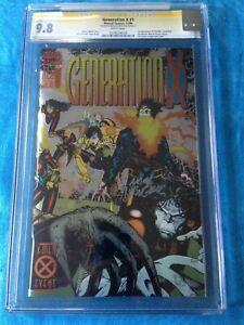 Generation X #1 - Marvel - CGC SS 9.8 NM/MT - Signed by Mark Buckingham