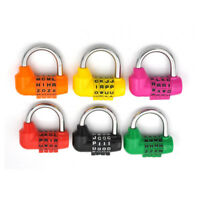 Letter Code Dial Combination Suitcase Luggage Metal Code Password Lock PadlockFC