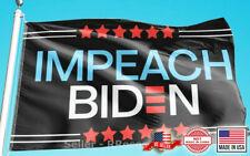 Donald Trump 2024 Flag FREE SHIPPING - Impeach Biden Flag