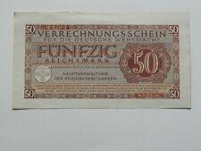 50 Reichsmark,Wehrmachtsgeld 1944