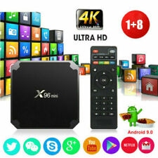 X96MINI Smart TV Box S905W Quad Core Android 7.1.2 4k HD 3D Media Player USPS
