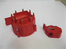 6000 Series HEI RED Distributor Cap and Rotor Ignition Top Replacement