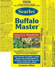 SEARLES BUFFALO MASTER SELECTIVE WEEDKILLER 500ML