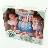 ~ Rare ~ Vintage ~ Cabbage Patch Kids ~ Birthday Twins Playset ~ Mattel 1997 ~