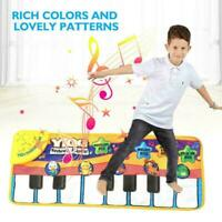 Kids Baby Musical Music Keyboard Piano Play Mat Development Educational I3C4