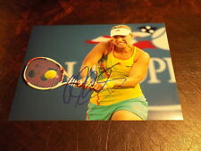 ANGELIQUE KERBER AUTOGRAPHED TENNIS 8X10 PHOTO W/COA