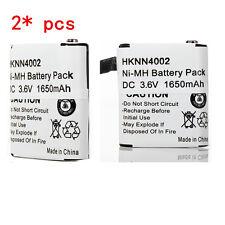 2x 1650mAh Battery For MOTOROLA HKNN4002A KEBT-071-A T4800 MC220 MJ270 MR350