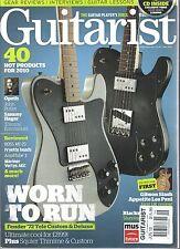 Guitarist Magazine June 2010 Sammy Hagar Opeth Slash Gibson - Issue 329 with CD