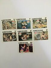 """GRENADA Disney Stamps 1980 Christmas """"Snow White and the Seven Dwarfs"""" mint?"""