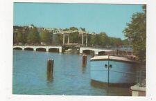 Amsterdam Magere Brug 1986 Postcard Netherlands 595a