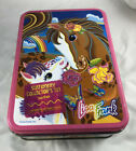 Lisa Frank Tin Rainbow Chaser and Lollipop - 80s Vintage Retro Funky Colorful