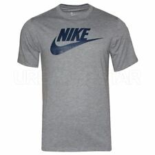 NIKE Mens Crew Neck Short Sleeve T-Shirt Grey (696707-091)