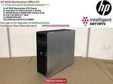 HP Z620 Workstation 2x Xeon E5-2667 V2 3.30GHz 192GB 1TB SATA 256GB SSD K4000