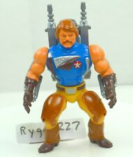 MOTU, Rio Blast, Masters of the Universe, figure, complete with guns, He Man