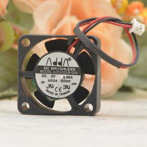 ADDA 2510 2.5CM 5V 0.06A AD0205LB-G50 notebook graphics card cooling fan