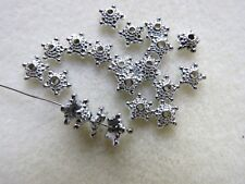 50 - 2000 Star Domed Bead Caps / Spacers. 10mm.  Jewellery or Craft Making