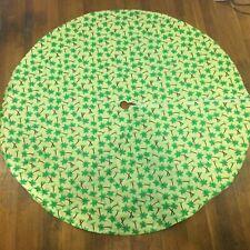 Vintage Palm Tree Patio Table Cover Hawaiian Tiki Bar Luau Party Beach Umbrella