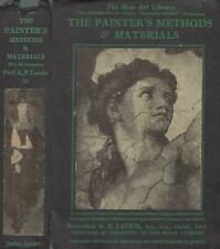 The Painter's Methods and Materials--A. P. Laurie (1947, Illustrated, Hardcover)