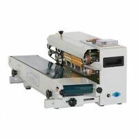 Horizontal Heat Sealer Automatic Plastic Bag Sealing Machine Constant Work FR900