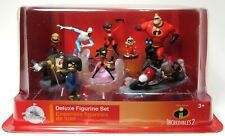 New Sealed Disney Incredibles 2 Deluxe Figurine Set
