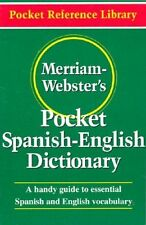 Merriam-Websters Pocket Spanish-English Dictionary (Flexible paperback) (Pocket