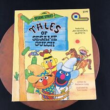 Vtg 1977 Tales of Sesame Gulch By Ruthanna Long Illustrated by Tom Cooke Muppets