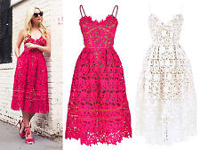 Cut-out Slim Strap Azaelea Midi Dress Textured Lace Floral Mesh Low V Bralet