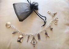 The Walking Dead Inspired Charm Bracelet Birthday Easter Christmas Party Gift