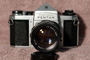 Honeywell Pentax H3v with 55mm f1.8 Super Takumar 55mm Lens.