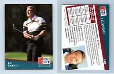 J.C. Snead #248 PGA Tour 1991 Pro Set Trading Card