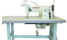 New Consew 206Rb-5 Upholstery Sewing Machine, Stand, Servo Motor & Led Lamp