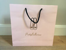 Used - Pretty Ballerines - Bag Paper Pink - Pink Paper Bag