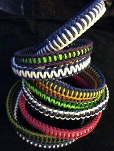 Best Paracord Dog Collars, handmade in the USA, Heavy Duty,All Sizes, All Styles
