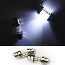 "2x DE3175 DE3022 3021 4 LED Trunk Cargo Area Light Festoon 1.25"" 31mm Bulb White"