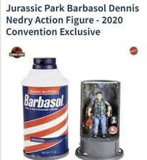 Jurassic Park Barbasol Dennis Nedry Action Figure 2020 Convention Exclusive