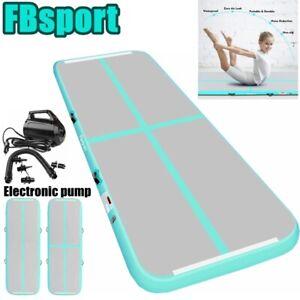 FBsport 20ft Inflatable Gymnastics Air Yoga Track Tumbling Exercise Mat + pump