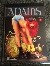 THE ART OF ARTHUR ADAMS VOLUME ONE HARDCOVER SKETCHBOOK SIGNED OUT OF PRINT RARE