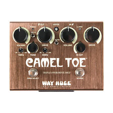 Way Huge Camel Toe MKII Triple Overdrive Guitar Effect Pedal - New