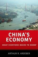 China's Economy: What Everyone Needs to Know(r) (Paperback or Softback)