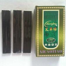 70 Pcs Traditional Smokeless Moxa Stick Moxa Roll Moxibustion Healing Therapy