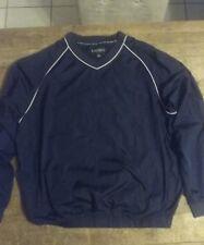 Mens Footjoy Navy Blue Golf Pullover Jacket Size Xl