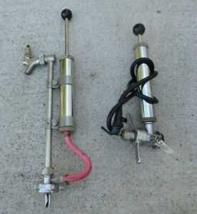 Draft Beer Keg Tap Party Stainless Part Pump Tapper set of 2
