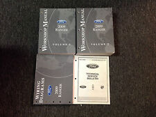2009 FORD RANGER TRUCK Service Shop Repair Manual Set W EWD + Bulletins OEM