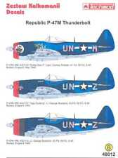 Techmod Decals 1/48 REPUBLIC P-47M THUNDERBOLT Fighter