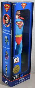"""SUPERMAN - Mego Limited Edition Numbered 14"""" Classic Action Figure - NEW SEALED"""