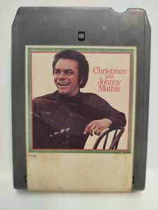 Christmas With Johnny Mathis Capitol Eight 8 Track Tape et155